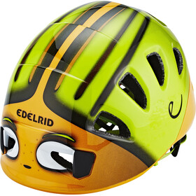 Edelrid Shield II - Casque Enfant - vert/orange